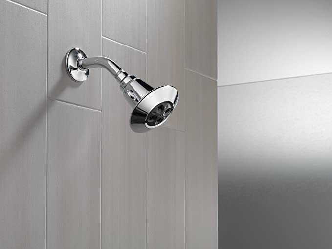 Delta Faucet 2-Spray Shower Head, Chrome 75152