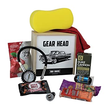 Amazon ManSnacks GEAR HEAD