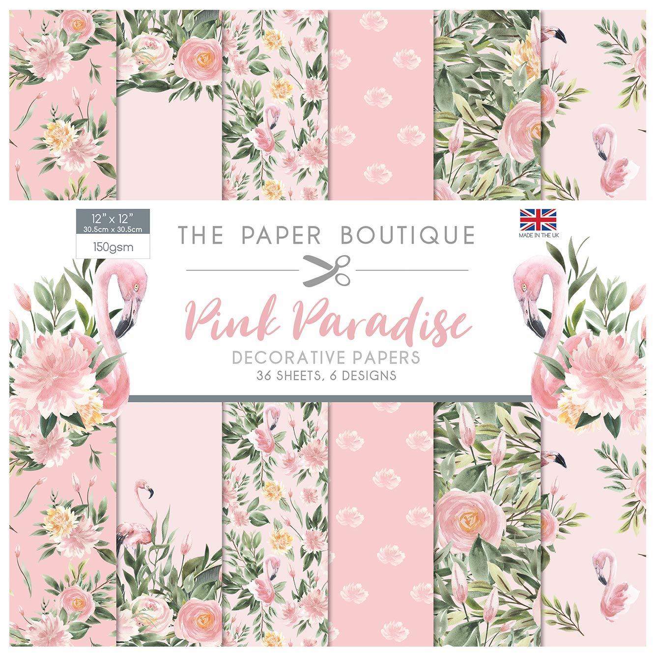 The Paper Boutique Pink Paradise 12x12 Paper Pad