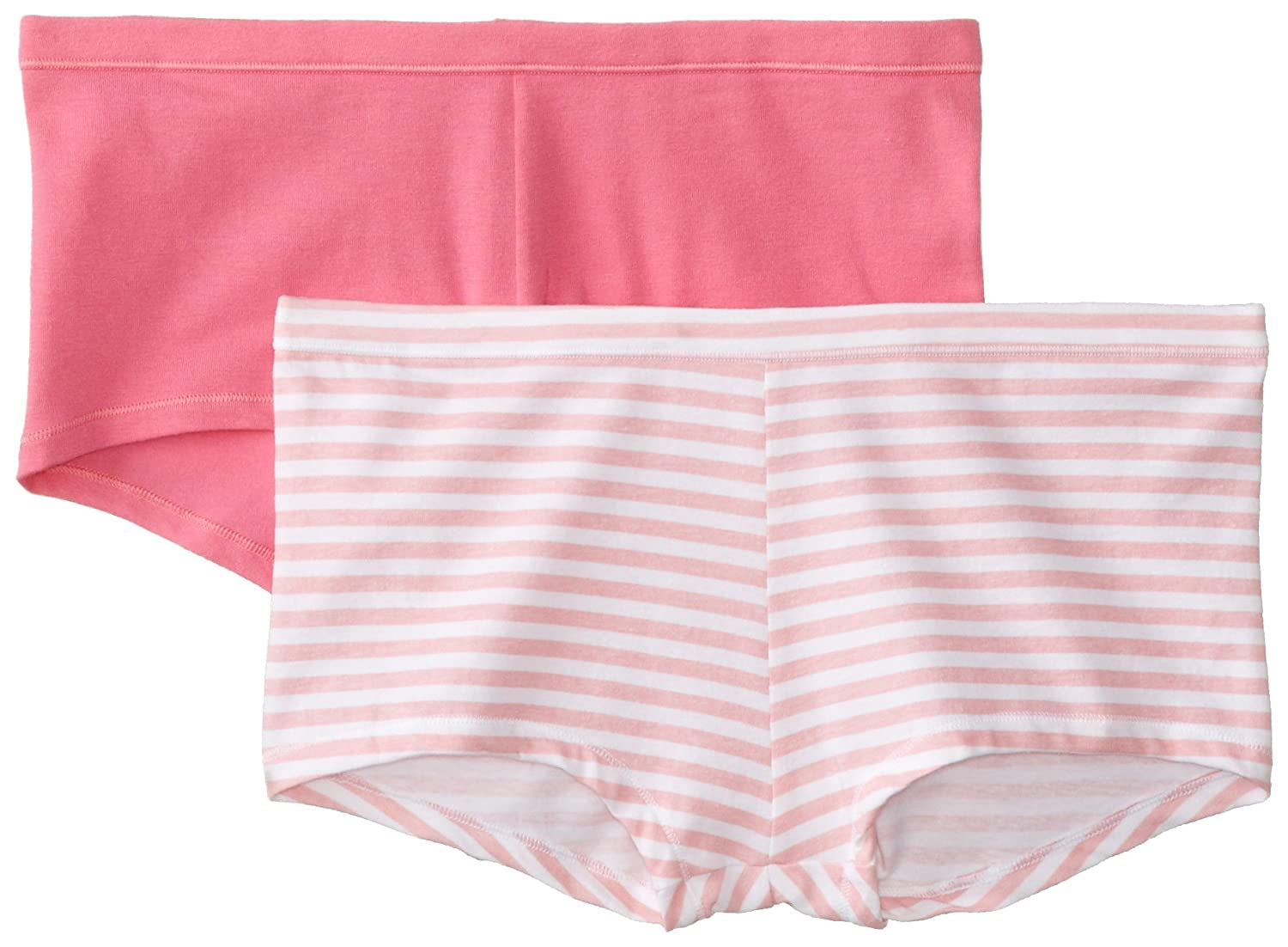 Hanes Women's Cotton Stretch Boy Brief Panty (Pack of 2) Hanes Women's Panties D49EAS