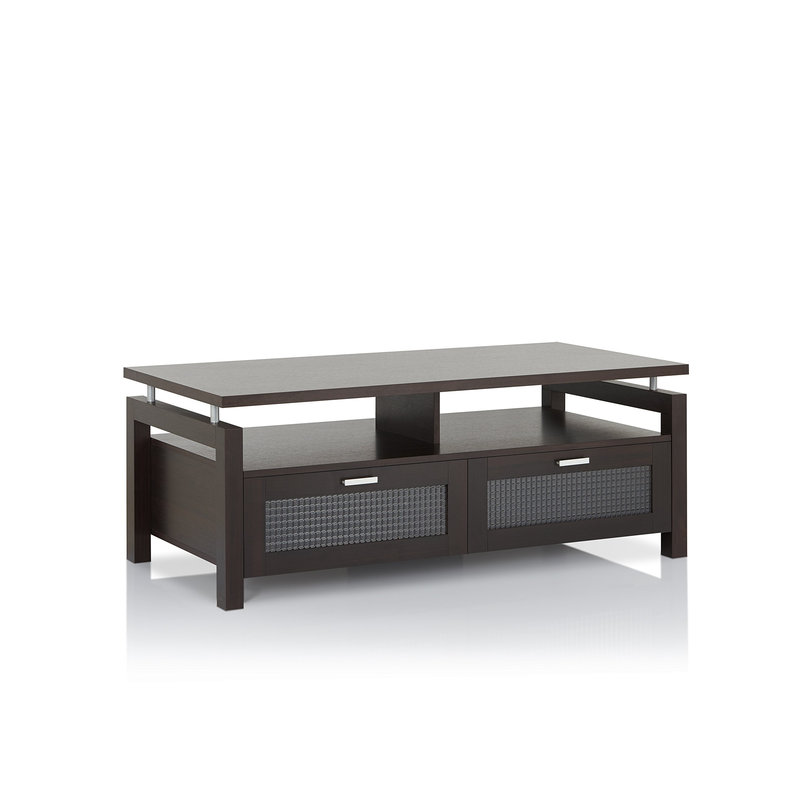 ioHOMES Griffon Modern Coffee Table, Espresso by HOMES: Inside + Out