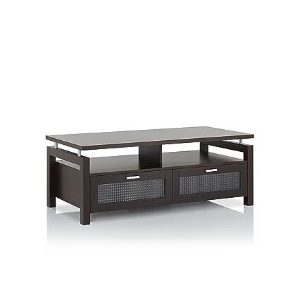 Amazon Com Iohomes Griffon Modern Coffee Table Espresso Kitchen