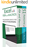 Excel VBA Bundle (2 Books): Excel VBA and Macros and 51 Awesome Macros