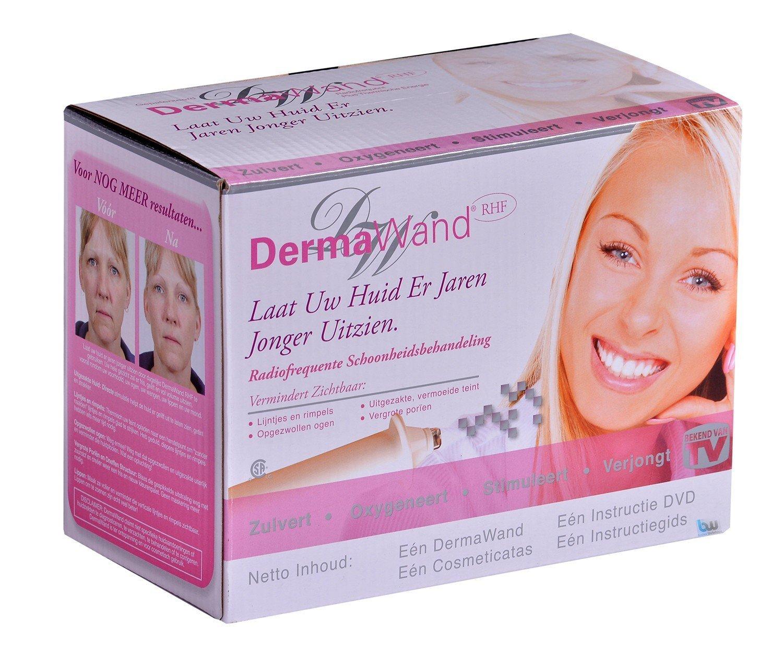 Soins de la peau DermaWand avec des résultats professionnels pour obtenir une peau lisse et rajeunie, il vous suffit de l'utiliser 3minutes par jour pour rajeunir votre visage