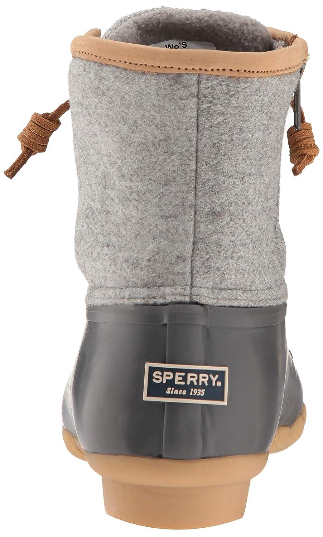 3b3e663a9d69c Amazon.com | Sperry Women's Saltwater Wool Embossed Rain Boot | Rain  Footwear
