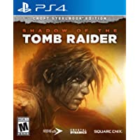 Shadow of the Tomb Raider Croft Steelbook Edition for PlayStation 4 by Square Enix