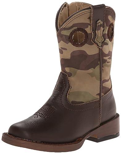 d4deb6f96453e Roper Camo Cowboy Square Toe Camo Cowboy Boot (Toddler/Little Kid/Big Kid