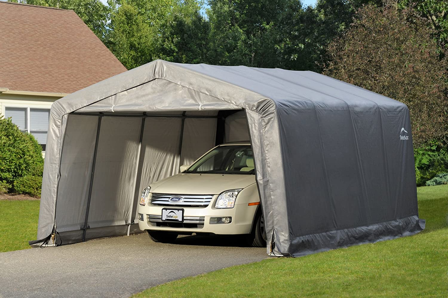 Shelterlogic Garage In A Box Sports Outdoors