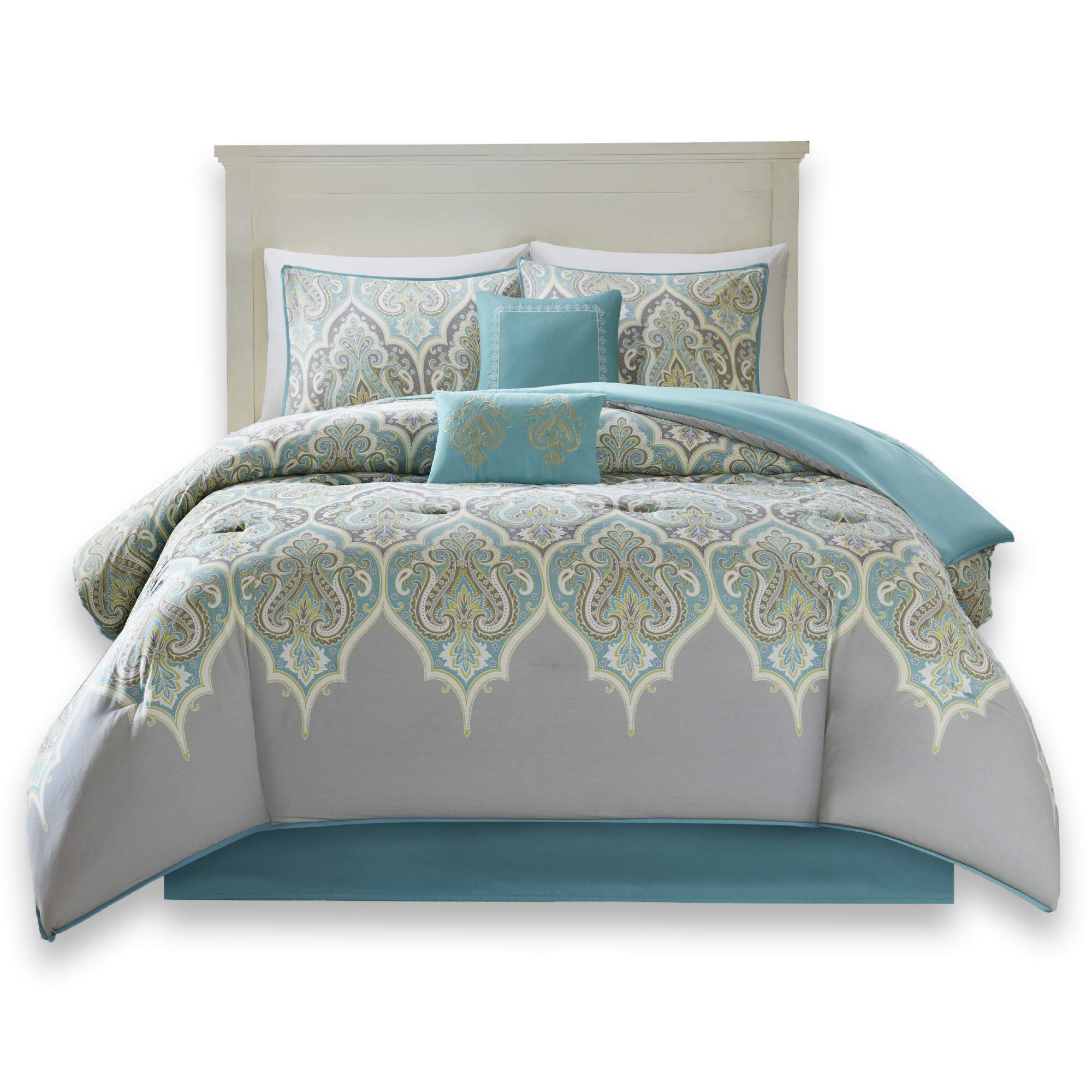 Comfort Spaces Mona 100 Cotton Printed Paisley Design 6