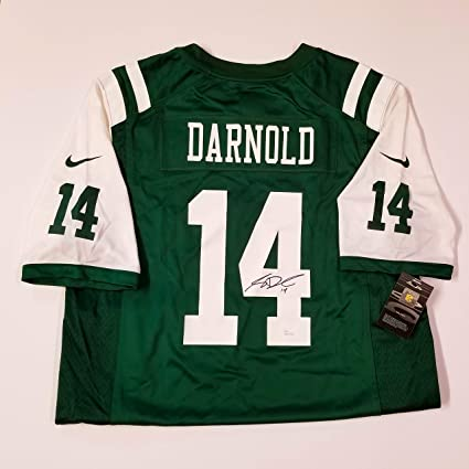 cheap for discount 17080 dfd8a Amazon.com: Sam Darnold New York Jets Quarterback ...