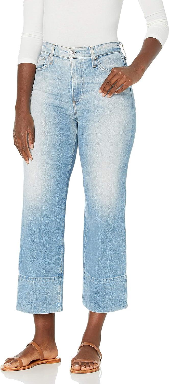 AG Adriano Goldschmied Womens Etta High-Rise Wide Leg Jean