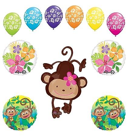 Amazoncom Mod Monkey Party Supplies Birthday Or Baby Shower Girl