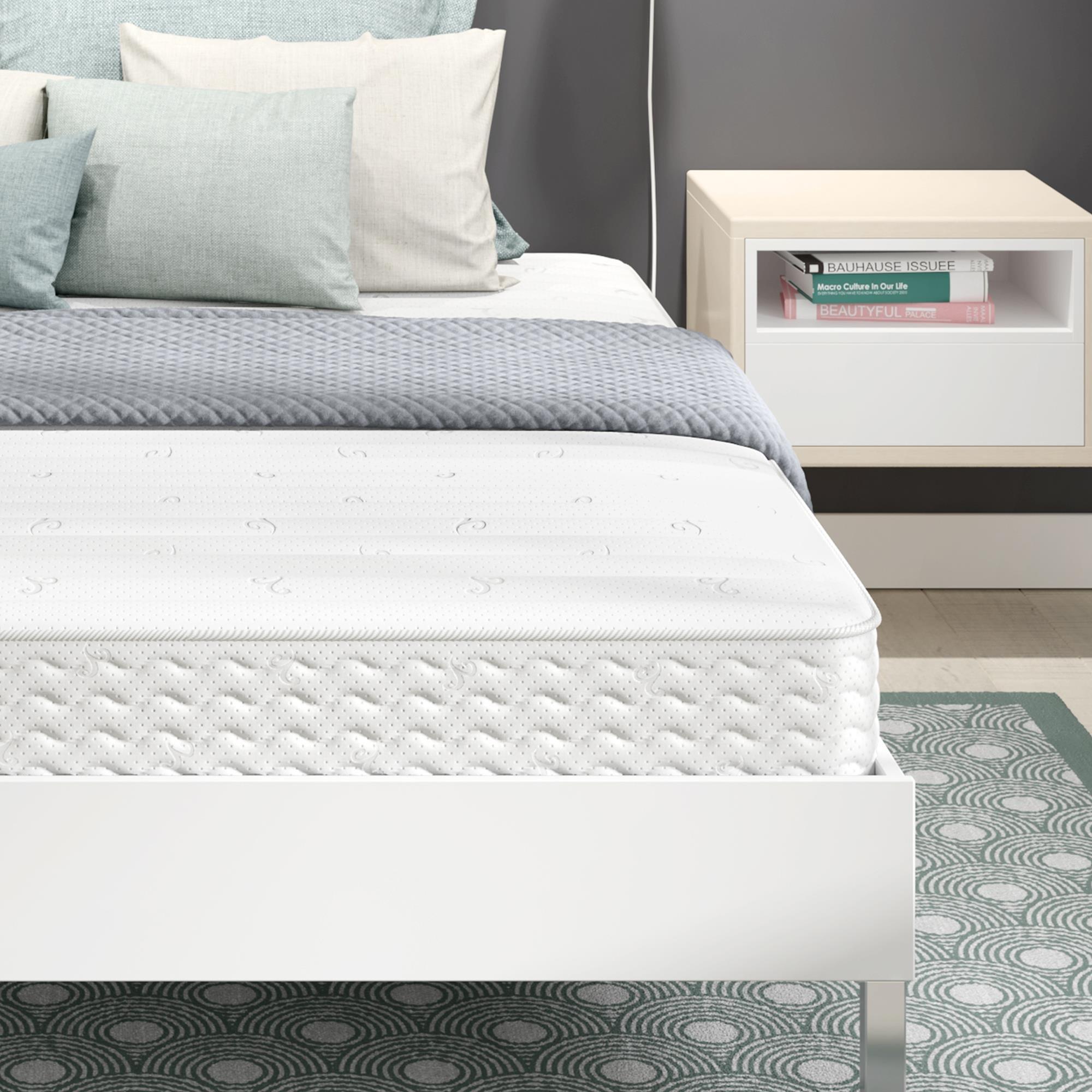 Signature Sleep 5436096 Contour Encased Mattress, Full, White by Signature Sleep