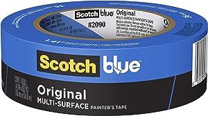 ScotchBlue 2090-36E hfs-koi-zk-a4754 Painter's Tape, 1.41-Inch x 60-Yard, Blue
