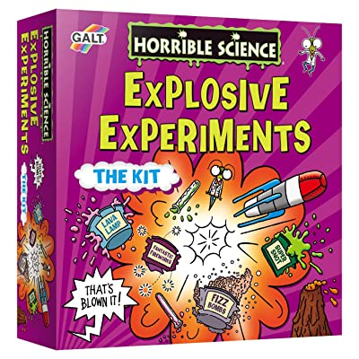 Horrible Science Experiment, Explosive Experiments: Toys & Games