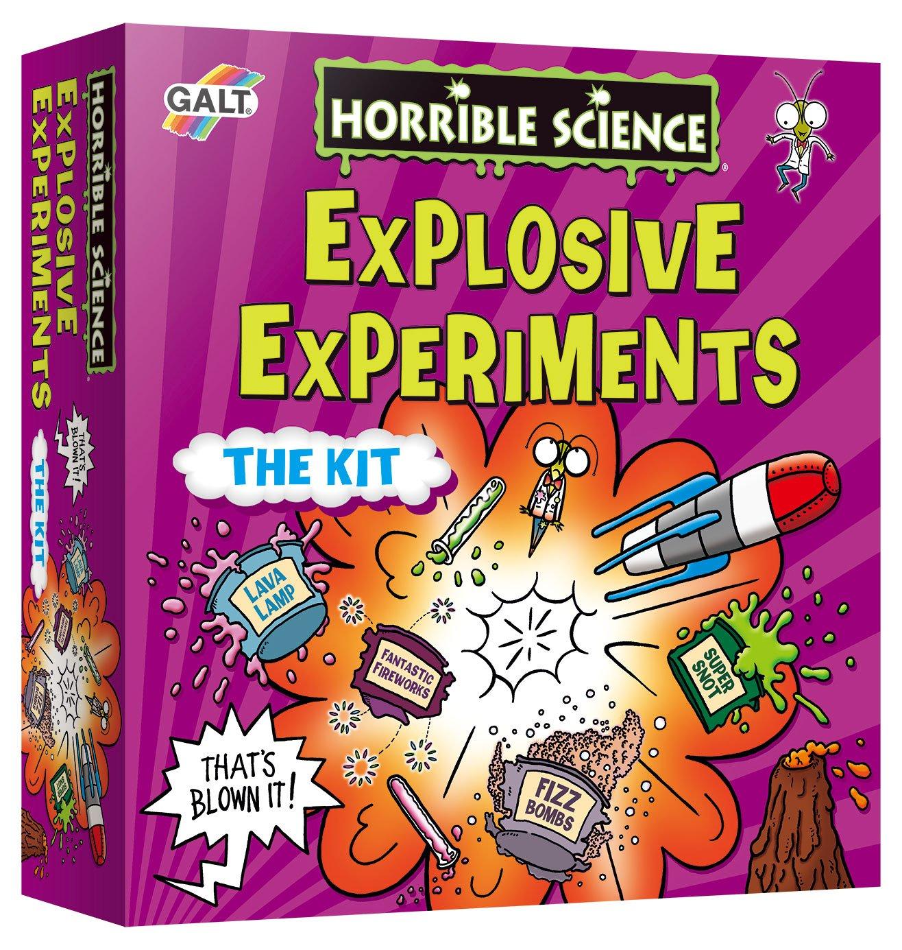 Horrible Science Experiment, Explosive Experiments