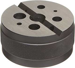 """product image for Starrett 129 Steel Bench Block, Smooth Finish, 3"""" Diameter, 1-1/2"""" High"""