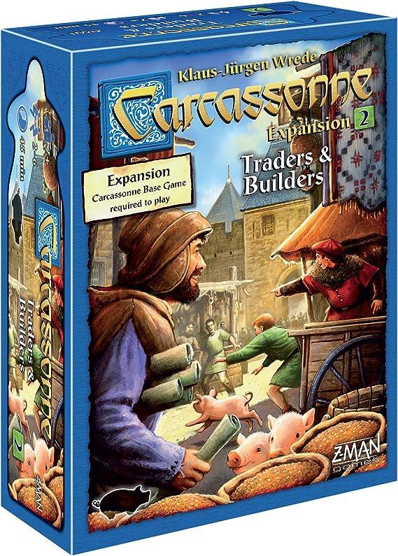 Carcassonne: Traders and Builders: Amazon.es: Juguetes y juegos
