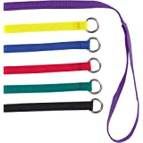 Guardian Gear 6-Feet Nylon Dog Kennel Lead, 6-Pack, Colors Vary