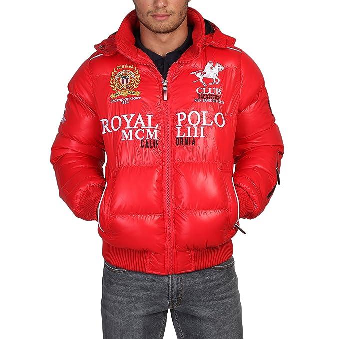 GEOGRAPHICAL NORWAY chaqueta hombre Alabama rojo - hombre - S: Amazon.es: Ropa y accesorios