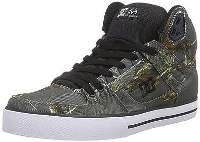 259c7e20e405f DC Spartan High Wc M Shoe Gry, Men's Hi-Top Sneakers, Gray - Grau ...