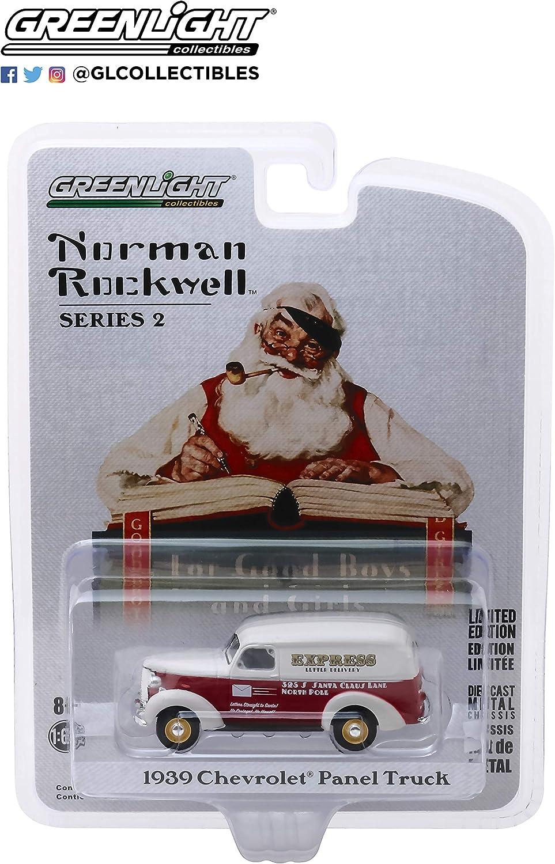 A.S.S NEU GreenLight 1//64 Chevrolet Panel Truck 1939 Express Norman Rockwell 2