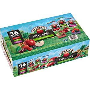 Apple & Eve 100% Juice Variety Pack (6.75 fl. oz, 36 ct.) M