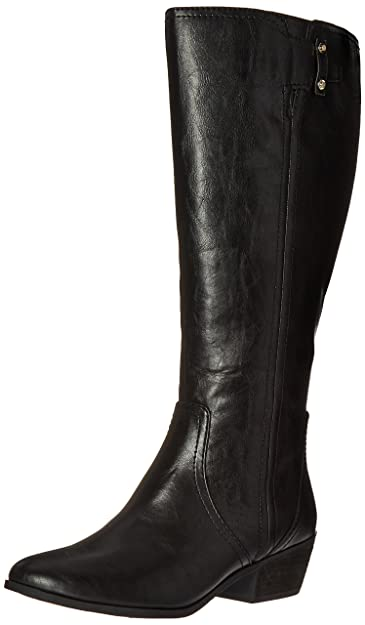 Dr. Scholl s Shoes Women s Brilliance Wide Calf Riding Boot Black ... 8e03082cfa
