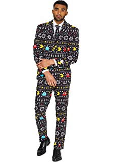 1e585a17a Opposuits Fun Christmas Suits in Different Prints- Full Set: Jacket, Pants  and Tie