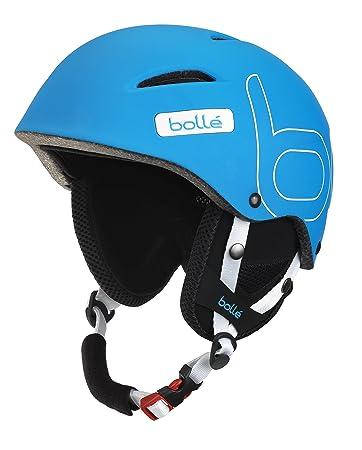 Bolle B-Style Ski Helmet, Soft Blue, 54-58cm