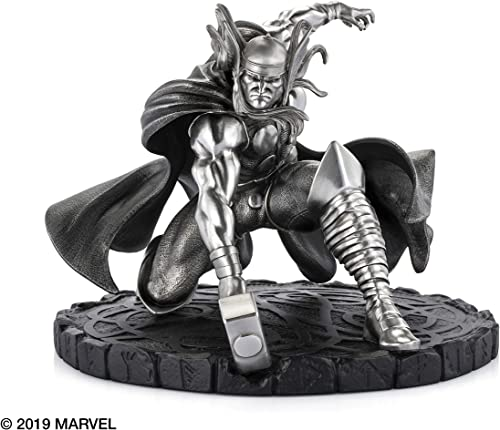 Royal Selangor Hand Finished Marvel Collection Pewter Limited Edition Thor God of Thunder Statue Gift