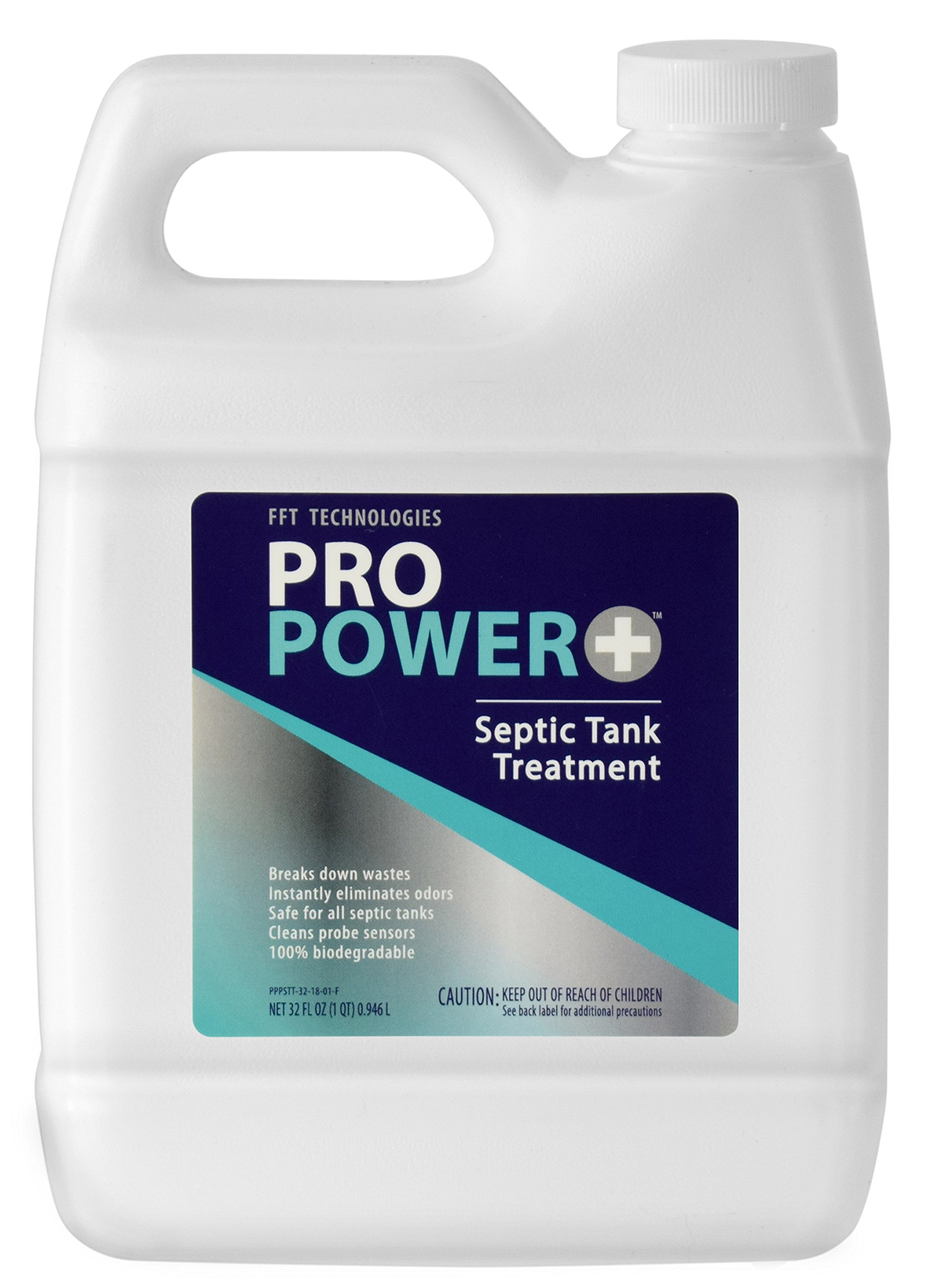 Industrial Strength Pro Power+ Septic & Holding Tank Cleaner - 100% Biodegradable - 32 oz.