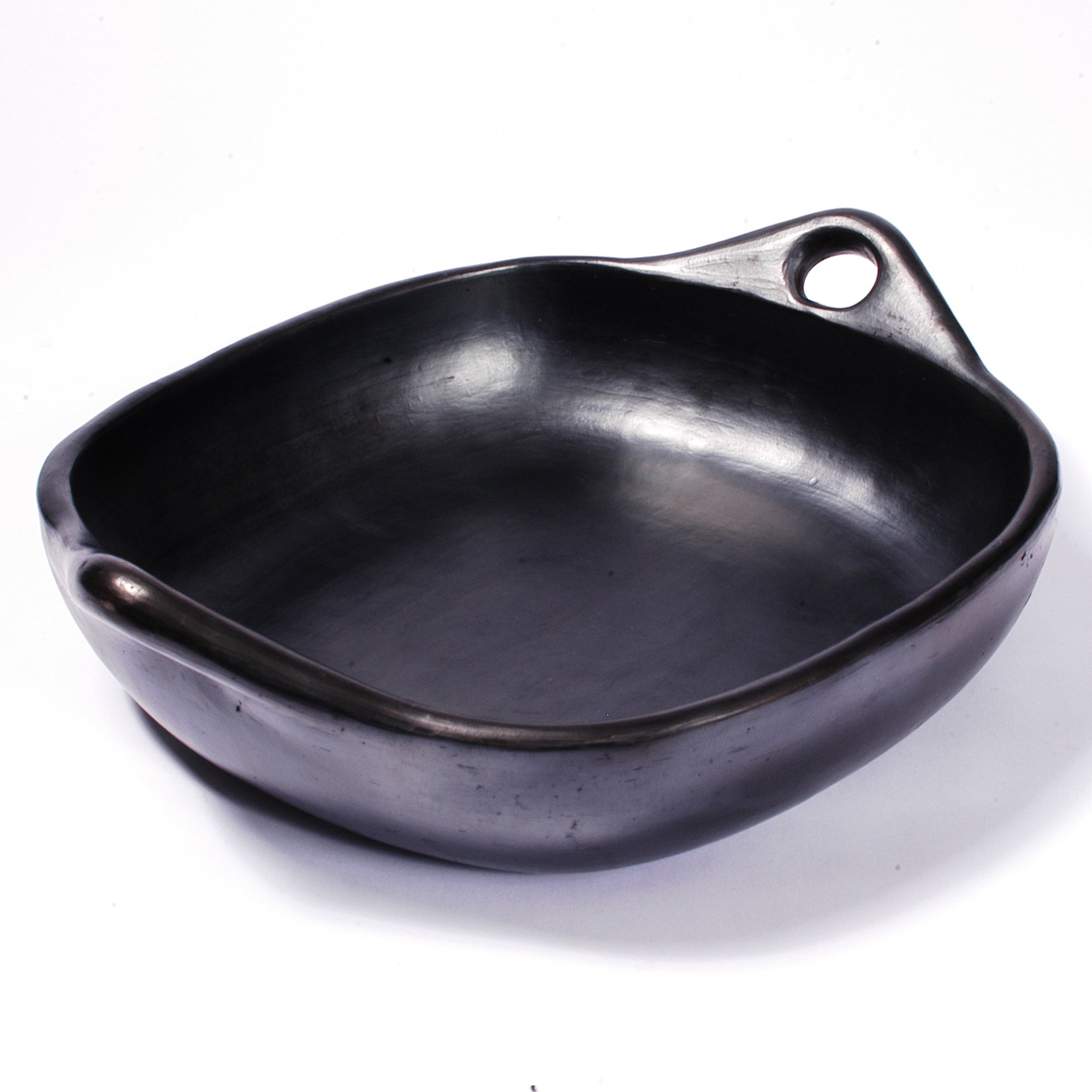 Black Clay, La Chamba Square Roasting Pan