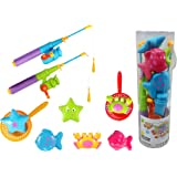 Magnetic Fishing Game Pretend Play Bath Toy Set