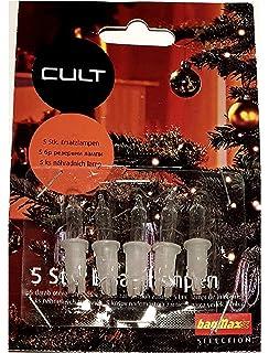 Ersatzlampen Weihnachtsbeleuchtung.Dapo 5 X Steckbirnen Für Stimmungsleuchten Pyramide Oder Spitze