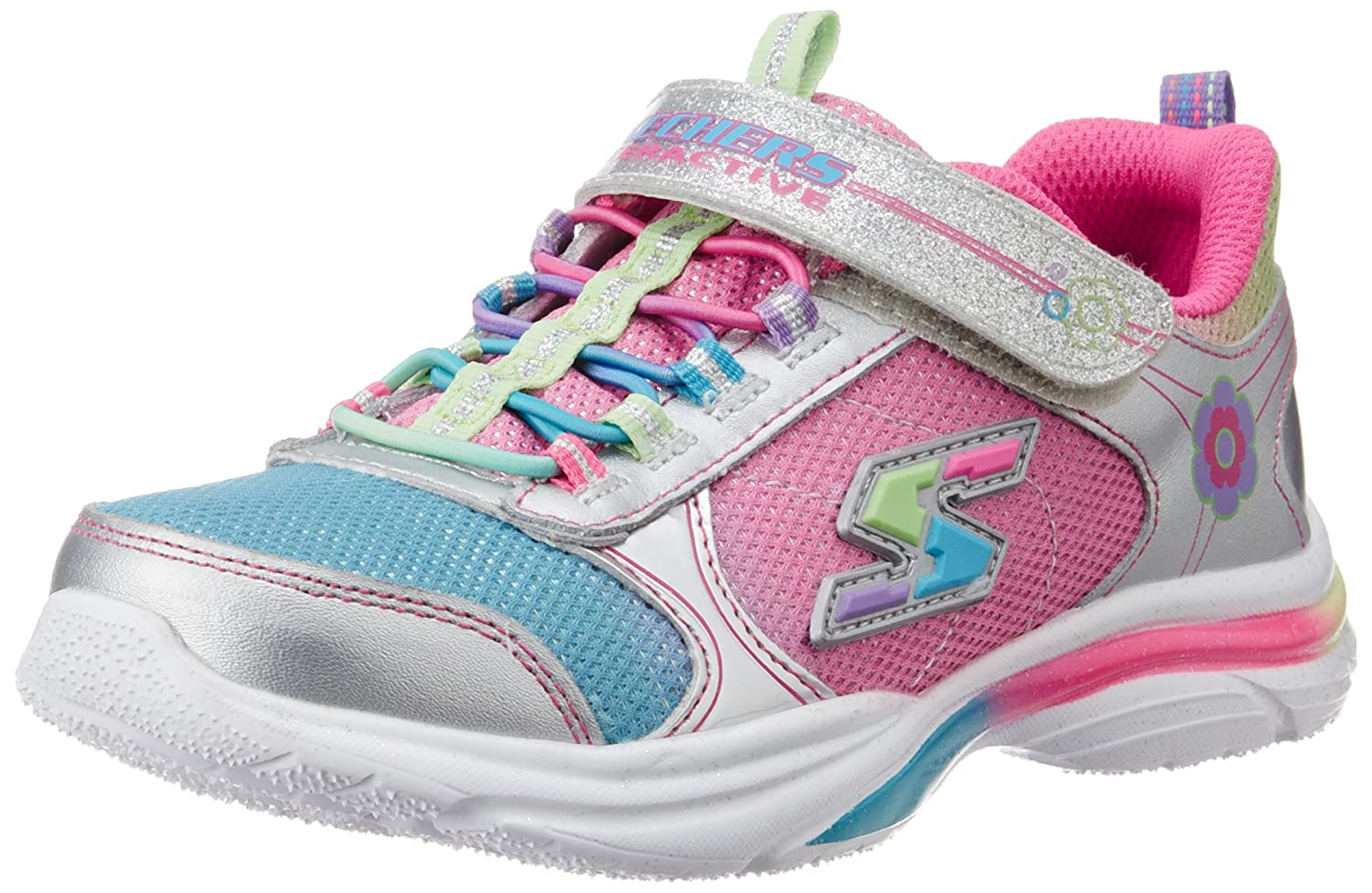 Skechers Kids 10900L Gamekicks Interactive Game and Light-Up Sneaker (Little Kid/Big Kid)