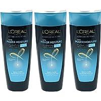 Lot of 3 LOreal Paris Advanced 2-in-1 Shampoo/Conditioner Power Moisture 071249304518