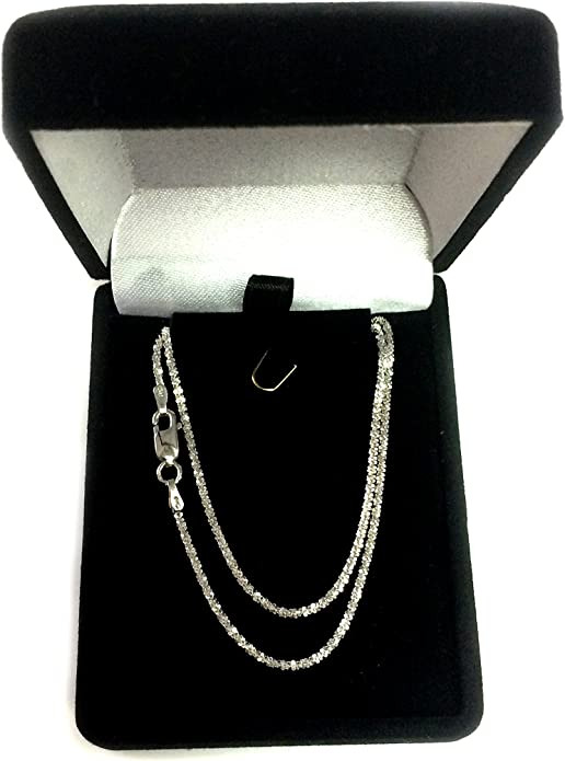 Silver Plated 2.8 mm Wide for Necklaces 20 Inch Textured Necklace Chain with Sturdy Lobster Clasp Pendants