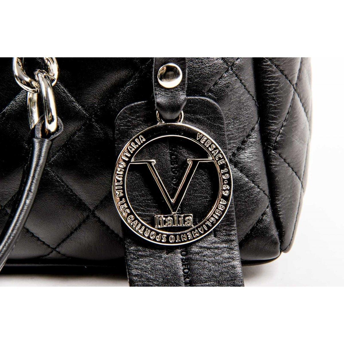 4a08e69428 Versace 19.69 Abbigliamento Sportivo Srl Milano Italia Womens Handbag V011  S BLACK  Amazon.co.uk  Shoes   Bags