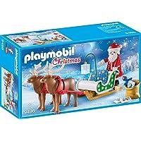 PLAYMOBIL- Trineo de Papá Noel con Reno Juguete, Multicolor, tu (geobra Brandstätter 9496)