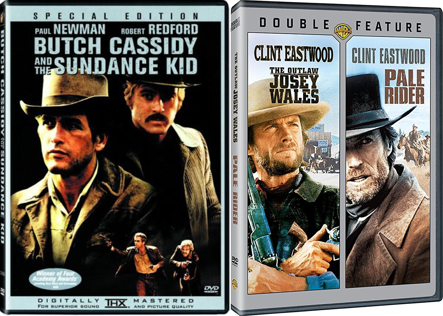 Pale Rider + The Outlaw Josey Wales & Butch Cassidy and the ...