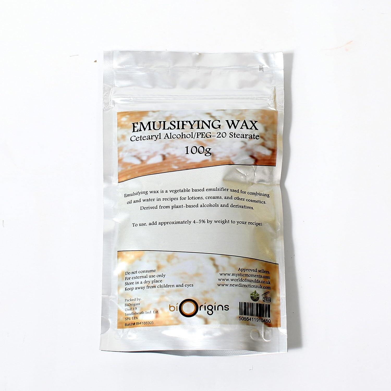 Amazon Emulsifying Wax Cetearyl Alcohol Peg 20 Stearate 100g