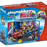 "PLAYMOBIL 6157 - Aufklapp-Spiel-Box ""Motorradwerkstatt"""