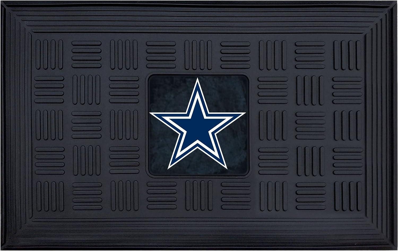 FANMATS 11440 NFL Dallas Cowboys Vinyl Door Mat,19