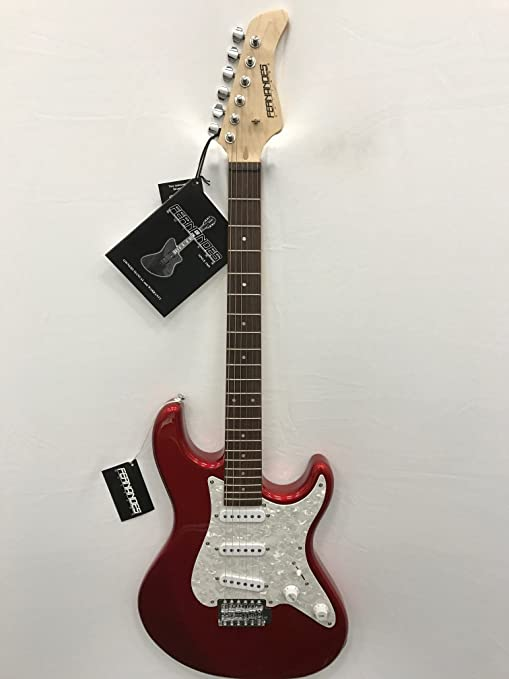 Fernandes RetroRocket X Guitarra eléctrica – Candy Apple rojo ...