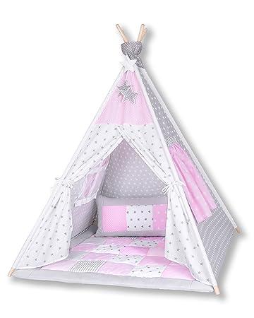 Amilian® Tipi Spielzelt Zelt für Kinder T11 (Spielzelt mit der ...