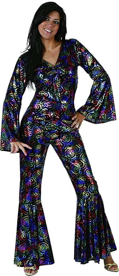 Hippie Costumes, Hippie Outfits UrAmmi Way 1980S Disco Costumes for Women Disco Clothing $28.88 AT vintagedancer.com