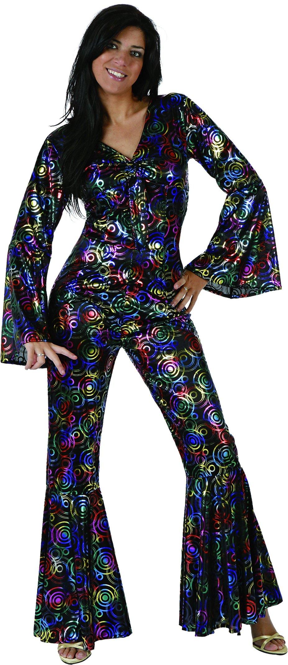 UrAmmi Way 1980'S Disco Costumes for Women Disco Clothing (XXL)