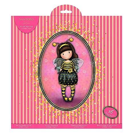 Docrafts GOR 160126 Santoro Gorjuss Paper Pk 12x12, us:one Size