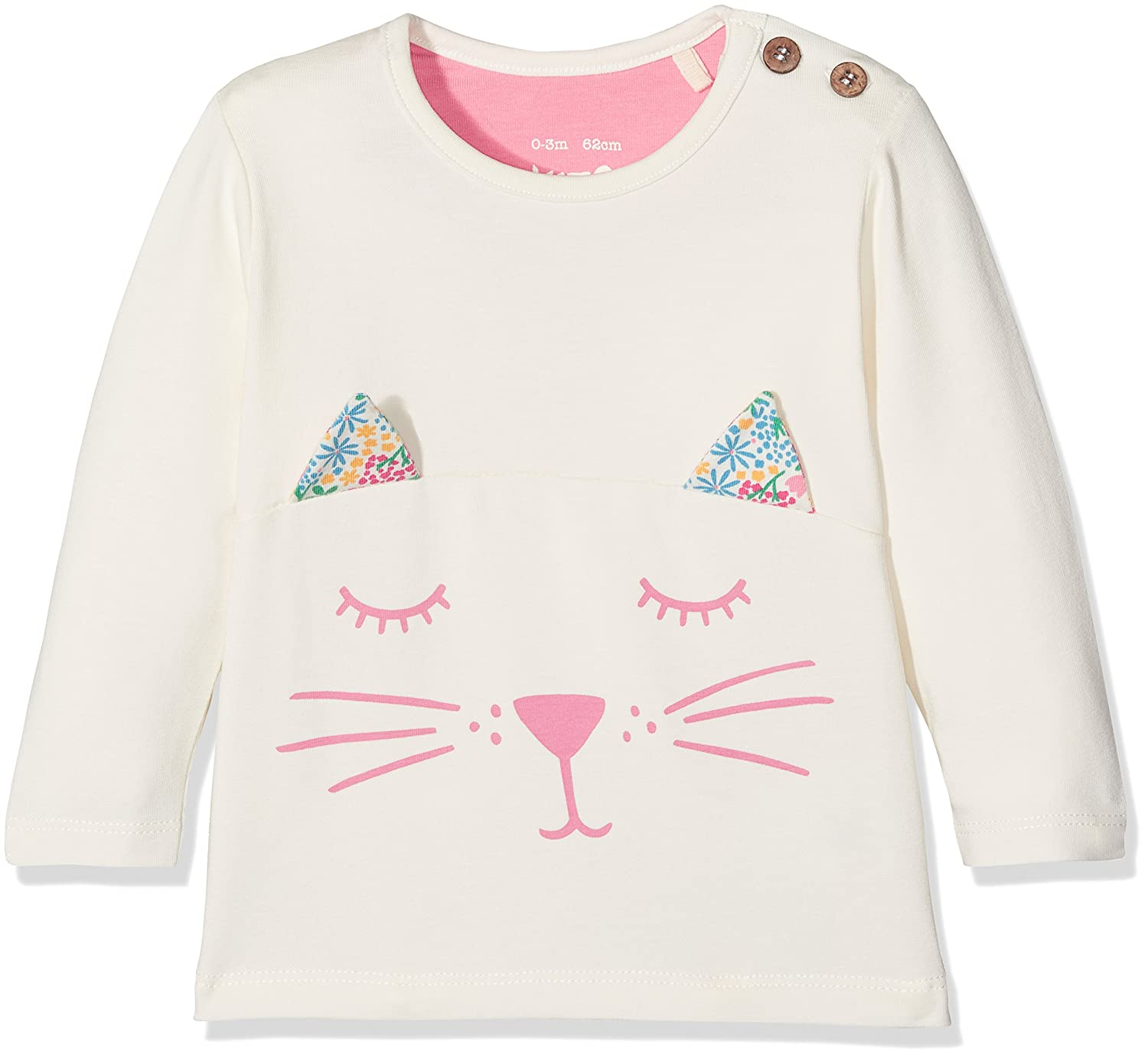 Kite Baby Girls' Kitten Ears Longsleeve T-Shirt BG515